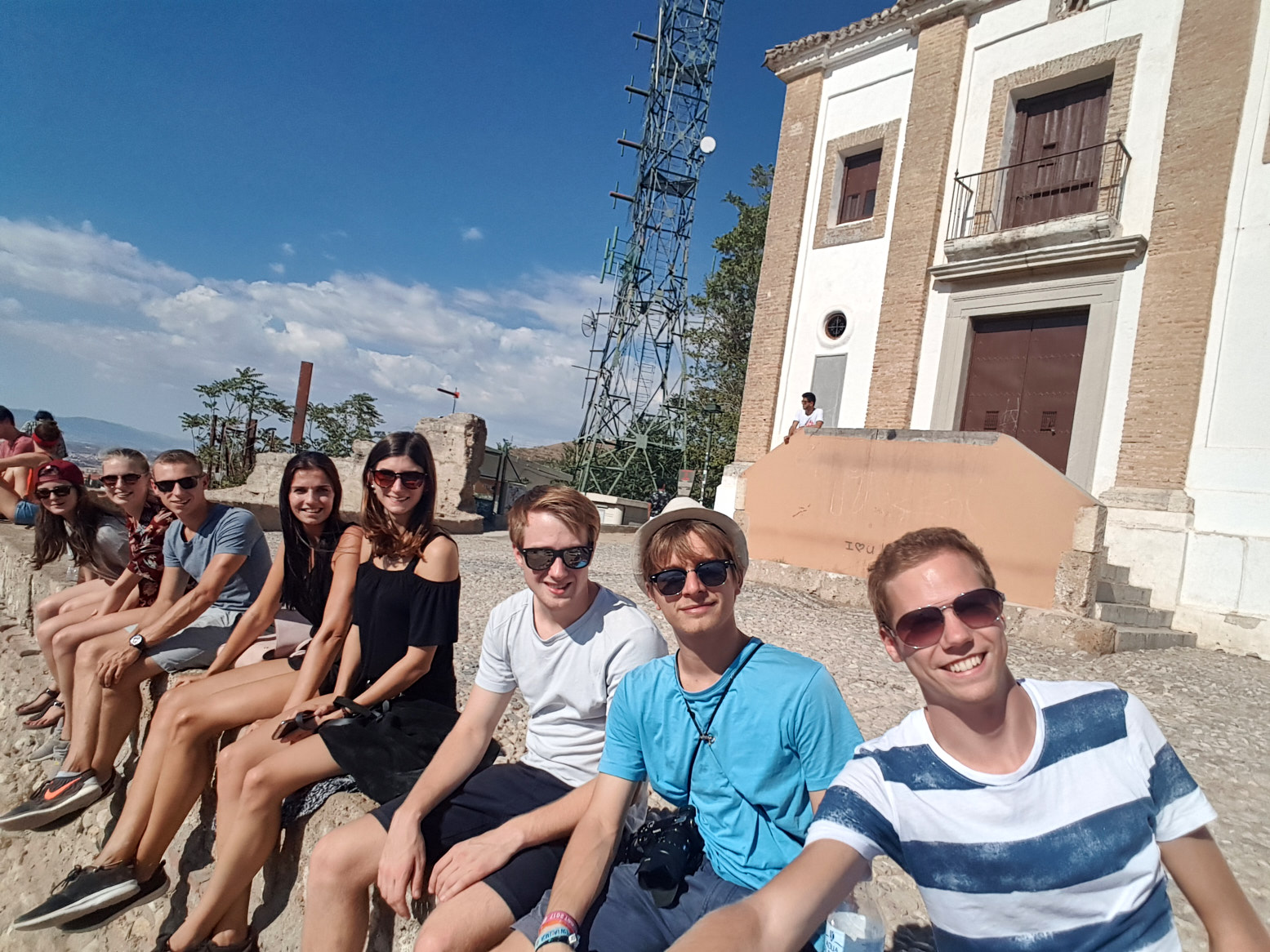 Second Group picture in Granada