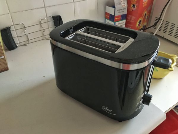 I bought a toaster